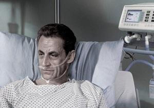 Саркози изобразили в рекламе о легализации эвтаназии