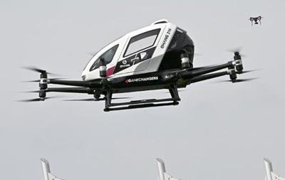 В Австрії вперше в Європі випробували повітряне таксі