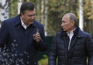 Фотогалерея: Надавили на газ. Янукович, Медведев и Путин провели газовые переговоры