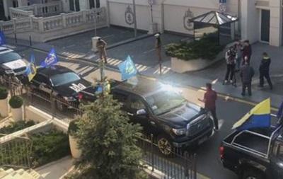 Автомайдан отрицает участие в митинге под офисом Зеленского