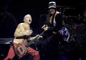 Red Hot Chili Peppers впервые выступят в Петербурге