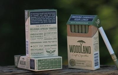 Уперше в світі створили еко-сигарети