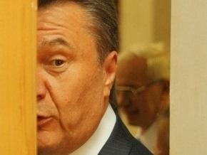 У Януковича температура