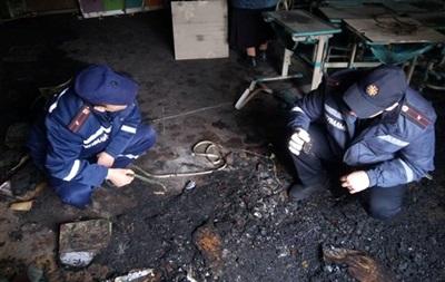 Пожежа в школі Очакова: в поліції назвали причину