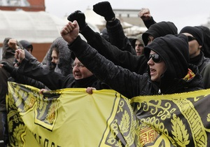 В Москве националисты вышли на Русский марш