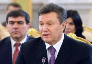 Янукович надеется, что Россия до августа снизит цену на газ