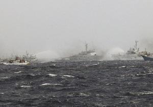 Битва за острова: Сторожевики Японии и Тайваня атакуют друг друга из водяных пушек