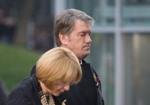 Ющенко: Сколько раз я объяснял, что моя жена не агент ФБР, а украинка