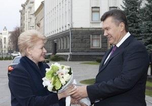 Президент Литвы согласилась приехать на ялтинский саммит в обмен на встречу с Тимошенко