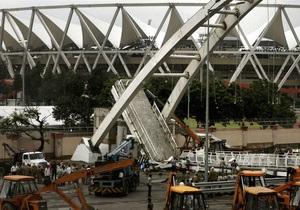 В Индии обрушился пешеходный мост, строившийся к открытию Игр Содружества