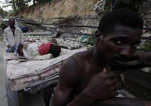 Общество Красного Креста Украины призывает помочь жителям Гаити
