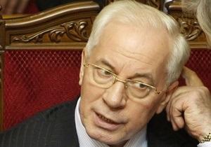 Азаров заверил, что Украина не будет возвращать России  долги Тимошенко