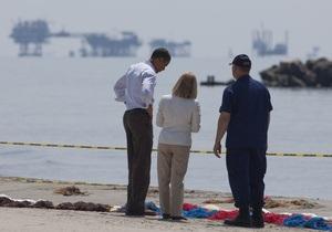 Обама выясняет,  чью задницу надрать  из-за аварии в Мексиканском заливе