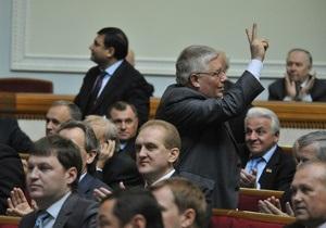 В Украине вступил в силу закон о новом порядке создания коалиции