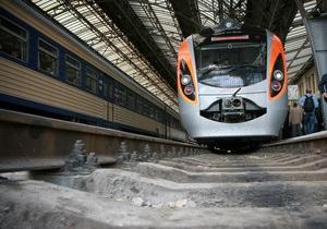 Экспресс Hyundai Львов-Киев опоздал на два часа и сорвал график движения поездов