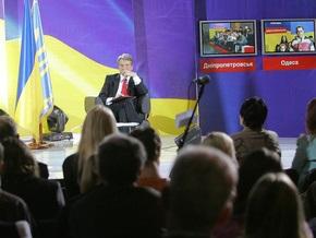 Ющенко считает, что Украина может потерять информационное пространство