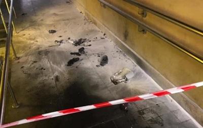 Вибух у центрі Києва: підозрювану жінку затримали
