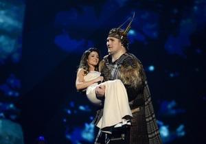 Украинская участница Злата Огневич выступила в финале Евровидения-2013