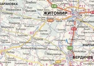 Ночью в Житомирской области перевернулся автобус: трое погибших
