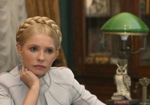 Тимошенко советует Януковичу не покупать тяжелые люстры
