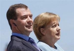 Медведев и Меркель договорились о создании комитета безопасности