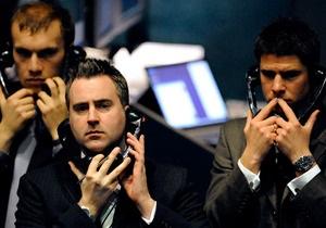 Фондовые рынки упали под давлением слабеющего евро