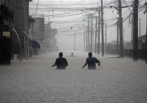 Фотогалерея: И разверзлись хляби небесные. Бразилия во власти стихии