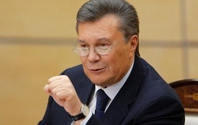 Адвокаты Януковича отрицают возврат его денег в Украину