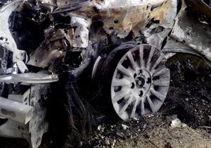 Сегодня ночью в Киеве горели три автомобиля