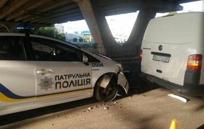 Патрульные Харькова дважды за сутки попадали в ДТП