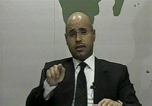 Сын Каддафи: Ливия будет стоять до конца в борьбе с НАТО