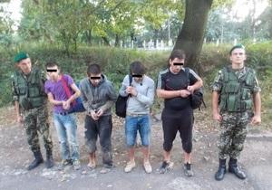 Украинским пограничникам пришлось применить силу для задержания нелегалов из Грузии