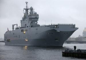 Россия планирует самостоятельно строить вертолетоносцы типа Mistral