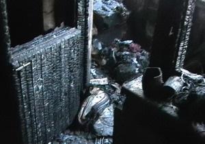 В Киеве на Оболони при пожаре погибли две женщины