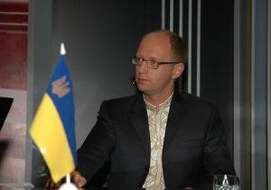 Яценюк: Власть пыталась устроить в Киеве 24 августа то же, что было во Львове 9 мая