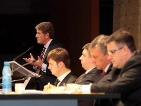 Фотогалерея: Ющенко взял партию на себя
