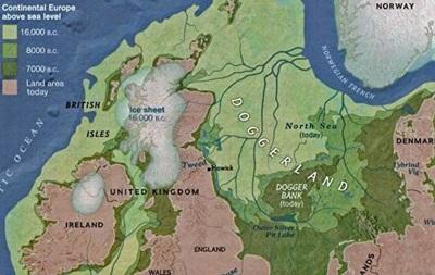 В Северном море нашли затонувший древний мир