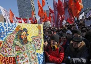 На митинге в Москве оппозиционеры призвали собрать сто тысяч подписей в защиту политзаключенных