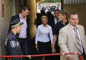 Прокурор: Арест Тимошенко обжалованию не подлежит