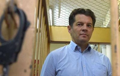 К Сущенко в колонии РФ пустили жену и дочь