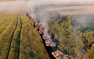 В зоне ООС проходят учения танковых экипажей