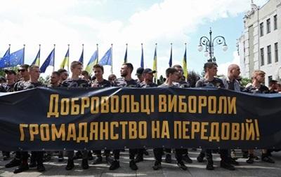 Рада одобрила гражданство воевавшим на Донбассе иностранцам
