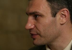 Кличко отказался от возведения себе памятника