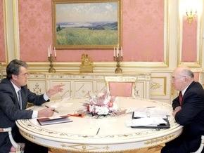 Ющенко обсудил со Стельмахом новый бюджет