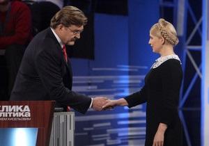 Завтра Тимошенко пойдет на Большую политику с Киселевым