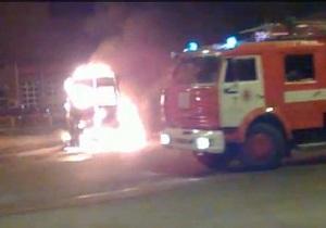 На автовокзале в Одессе сгорела междугородная маршрутка: пострадал водитель из Киева