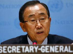 Пан Ги Мун выступил за начало переговоров в Ливии