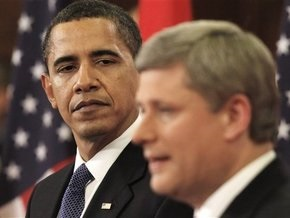 Обама совершил первый зарубежный визит в качестве президента США