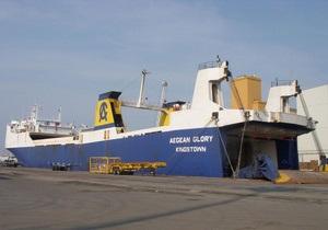 Индия задержала судно с грузом оружия и украинскими моряками