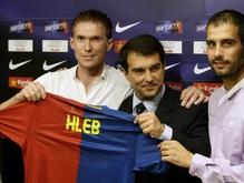Глеб стал игроком Барселоны